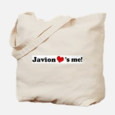 Javion loves me Tote Bag