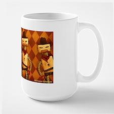 DOS Hombres Robot Mug