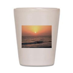 .florida sunset II. Shot Glass