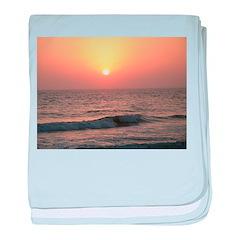 .florida sunset II. baby blanket