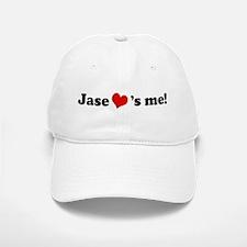 Jase loves me Baseball Baseball Cap