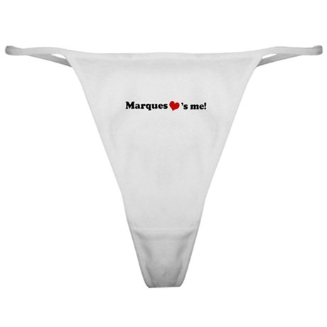 Marques loves me Classic Thong