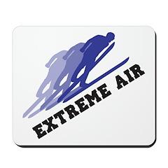 Extreme Air Skiing Mousepad