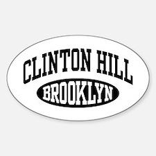 Clinton Hill Brooklyn Decal