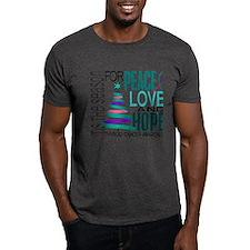 Christmas 1 Thyroid Cancer T-Shirt