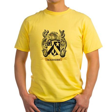 Alejandro Family Crest - Alejandro Coat of T-Shirt