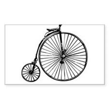 Antique Bicycle Decal