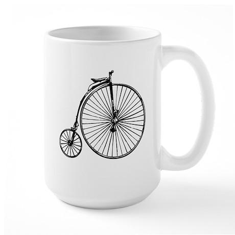 Antique Bicycle Large Mug