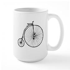 Antique Bicycle Mug