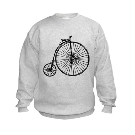 Antique Bicycle Kids Sweatshirt