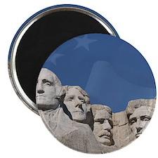 Patriotic Mt. Rushmore Magnet