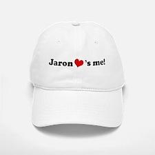 Jaron loves me Baseball Baseball Cap