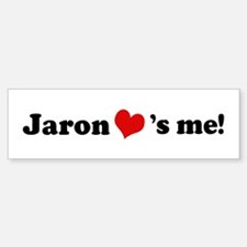 Jaron loves me Bumper Bumper Bumper Sticker
