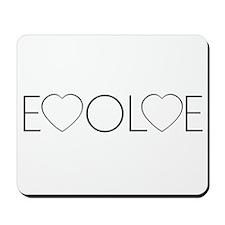 Evolve Love Mousepad