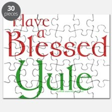 Blessed Yule Puzzle