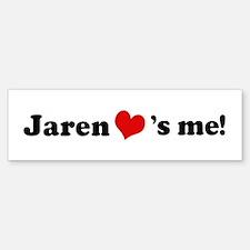 Jaren loves me Bumper Bumper Bumper Sticker
