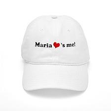 Maria loves me Baseball Cap