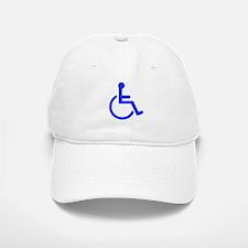 Handicapped Baseball Baseball Cap