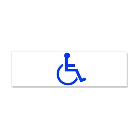 Handicapped Car Magnet 10 x 3