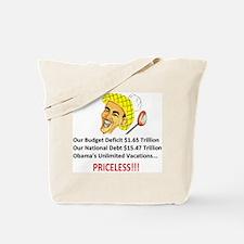 'Priceless' Anti Obama Tote Bag
