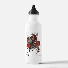 Horse-riding samurai Water Bottle