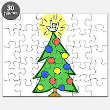 ILY Christmas Tree Puzzle