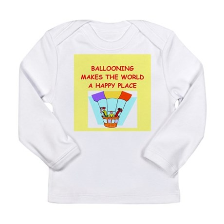ballooning Long Sleeve Infant T-Shirt