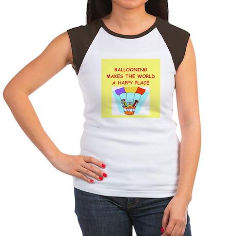 ballooning Women's Cap Sleeve T-Shirt