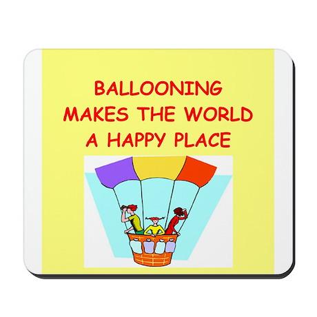 ballooning Mousepad