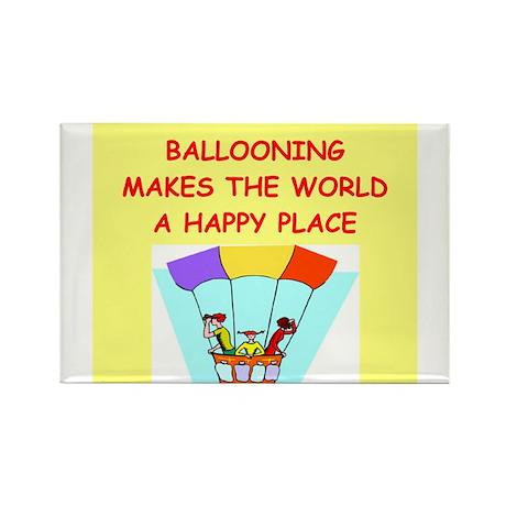 ballooning Rectangle Magnet