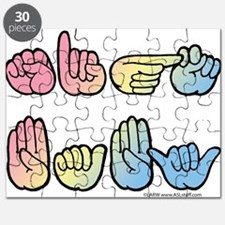 Pastel SIGN BABY SQ Puzzle