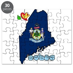 ILY Maine Puzzle