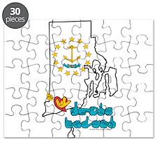 ILY Rhode Island Puzzle
