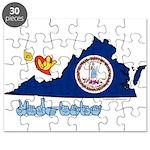 ILY Virginia Puzzle