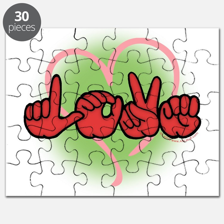 LoveWithHeart Puzzle