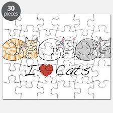 I Heart Cats Puzzle