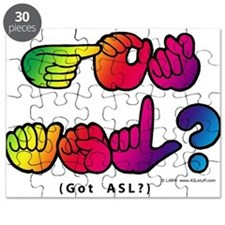 Got ASL? Rainbow SQ CC Puzzle