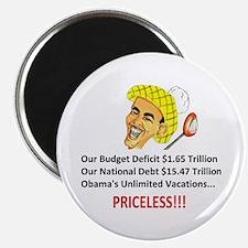 'Priceless' Anti Obama Magnet