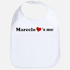 Marcelo loves me Bib