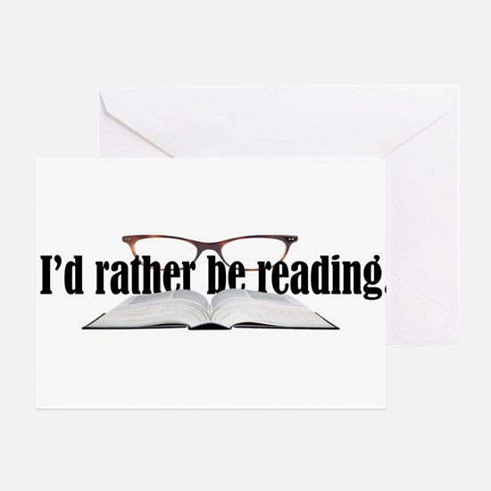 Rather Read Greeting Card