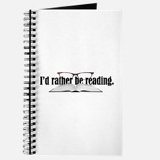I'd Rather Read Journal
