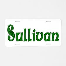 Sullivan Family Aluminum License Plate