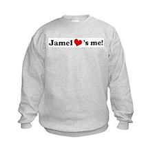 Jamel loves me Sweatshirt