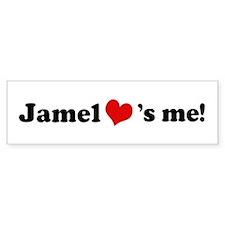 Jamel loves me Bumper Bumper Sticker