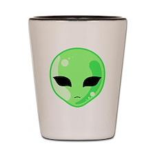 Alien Invader Shot Glass
