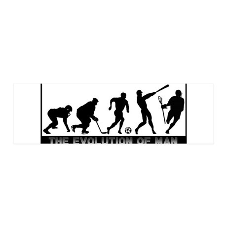 Lacrosse Evolution 36x11 Wall Decal