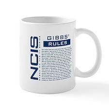 NCIS Gibbs' Rules Small Mug