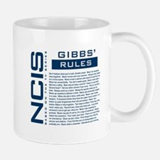 NCIS Gibbs' Rules Small Mugs