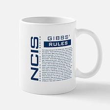 NCIS Gibbs' Rules Small Small Mug