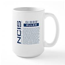 NCIS Gibbs' Rules Ceramic Mugs